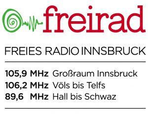 FREIRAD Logo und Frequenzen