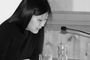 Anna Kim bei Lesung im Literaturhaus am Inn
