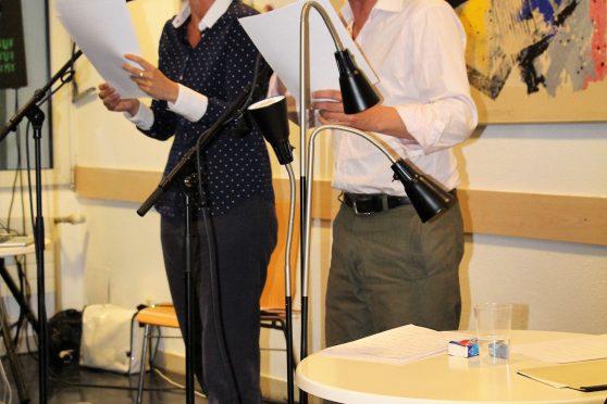 Julia Trompeter und Felix Römer1
