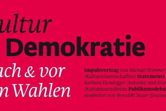 Postkartensujet Kultur und Demokratie