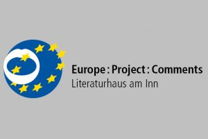 Logo des Projekts Europe : Project : Comments im Literaturhaus am Inn