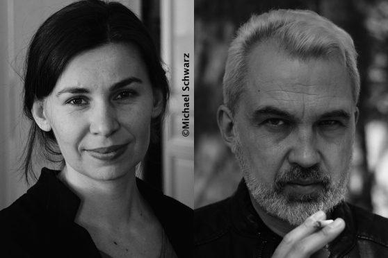 Maljartschuk und Baharevic Porträts